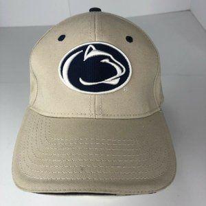 Penn State University PSU The Game Brand Lion Tan Strap Back